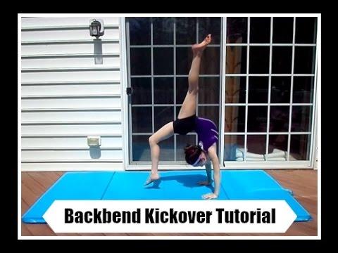 Back-bend Kick-over Tutorial 2020 *Follow Along*   Easy