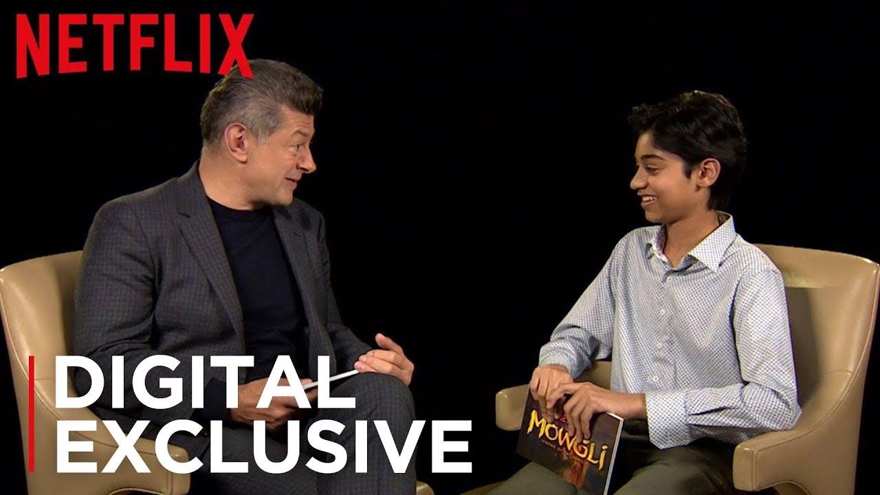 Download Mowgli: Legend of the Jungle   Cast Interview   Netflix