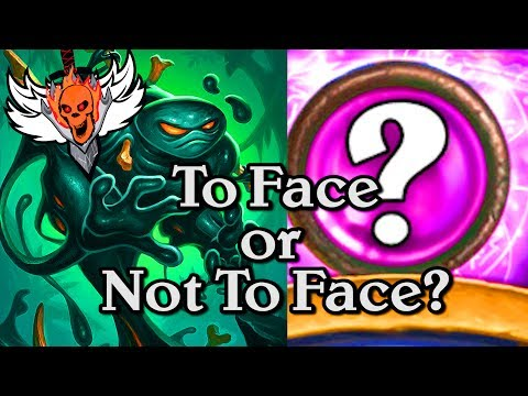 To Face or Not to Face, That is the Question 🍀🎲 ~ Journey to Un'Goro ~ Hearthstone Heroes of Warcr