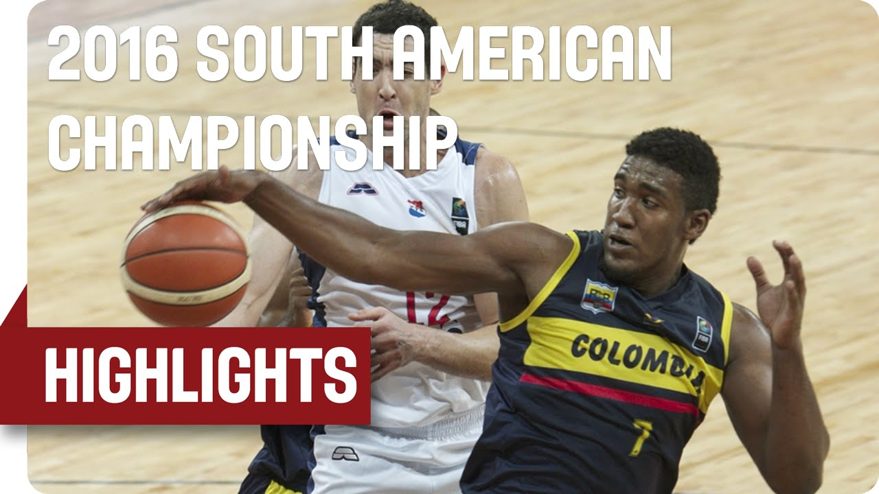 Paraguay v Colombia - Game Highlights - 5th Place Game - 2016 FIBA South American Championship