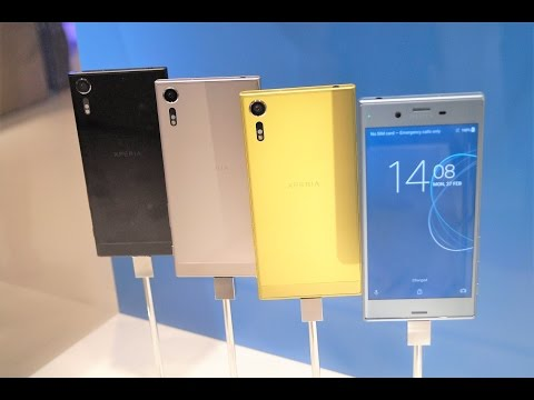 Xperia XZ Premium Hands On at MWC 2017