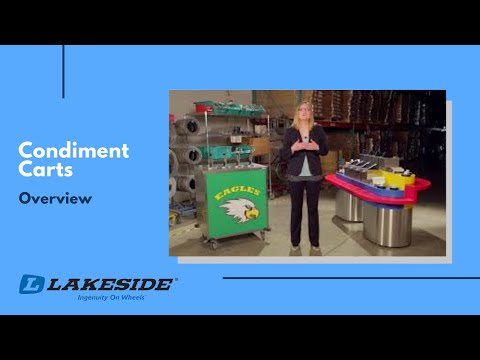 Lakeside Condiment Carts Overview