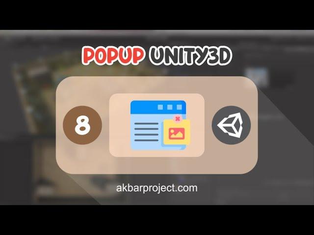 Membuat Pop Up di Unity | Tutorial Unity3D untuk Pemula Eps. 8