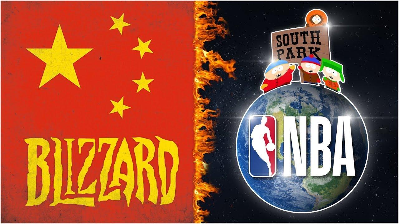 Se explica la censura china a los medios estadounidenses (Blizzard, NBA y South Park) + vídeo