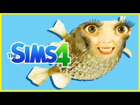 PUFFER FISH MURDER!  The Sims 4   [ My Dream Life ]