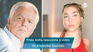 Frida Sofía asegura que Enrique Guzmán golpeaba y violaba a Silvia Pinal