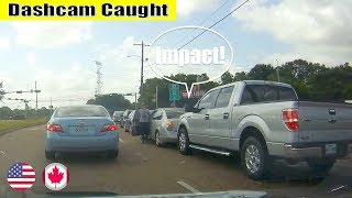 Ultimate North American Cars Driving Fails Compilation - 170 [Dash Cam Caught Video]