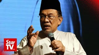 Anwar: Let the police investigate sex video