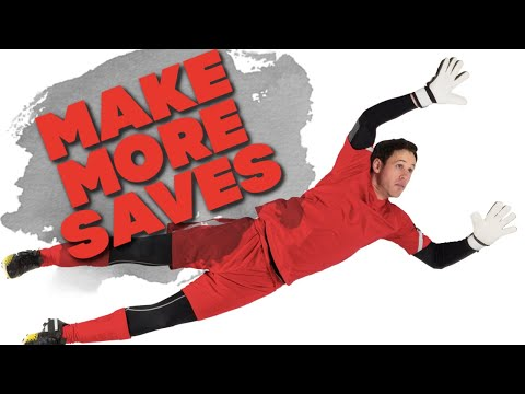 Soccer Skills - How To Make A Save In Soccer - Goalkeeper Soccer Skills