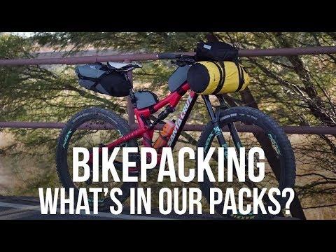 Bikepacking: What's In Our Packs? - Dusty Betty Women's Mountain Biking