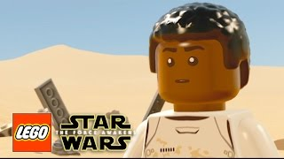 LEGO Star Wars The Force Awakens | Legos Videos Games Cartoons for Kids - Part 3