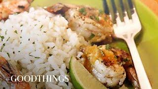 Good Things: Tequila-orange Shrimp - Martha Stewart