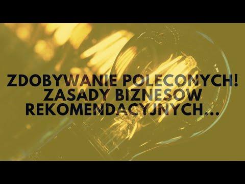 Zdobywanie Poleconych! 3 Kultowe Zasady Biznesów Rekomendacyjnych.   Tomasz M. Pietrzak