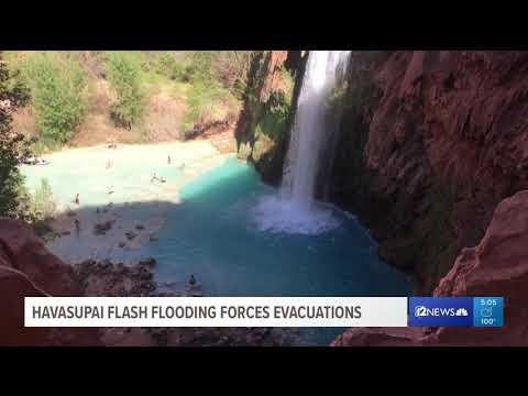 Havasupai flash flooding forces evacuations