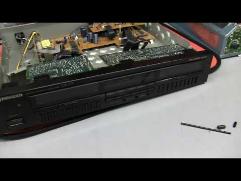 Pioneer GR-777 Stereo Graphic Analyser. Repair And Test.