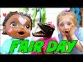 BABY ALIVE goes to the FAIR! GAMES and PRIZES. The Lilly and Mommy Show. The TOYTASTIC Sisters
