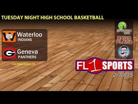 Waterloo @ Geneva .::. Finger Lakes East Section V Basketball on FL1 Sports
