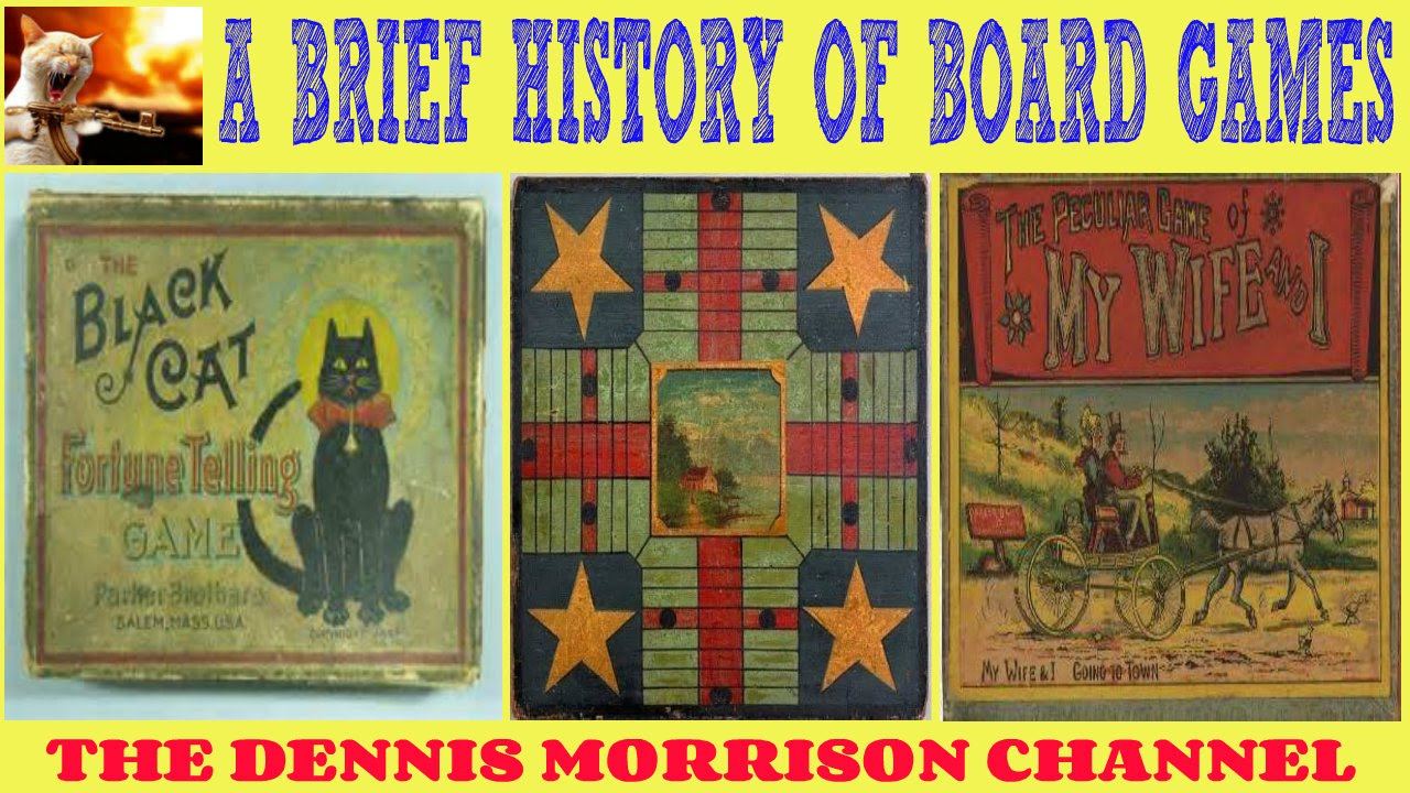 A Brief History Of Board Games How Much Do You Know