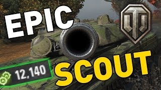 World of Tanks || EPIC SCOUTS