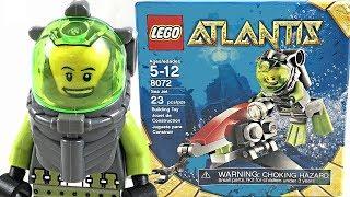 LEGO Atlantis Sea Jet review and unboxing! 2010 set 8072