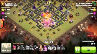 A good way to funnel. Clash of clans th9 vs th9