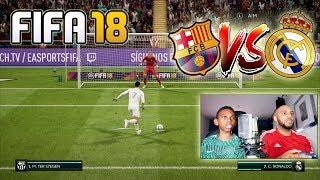 Fifa18 | El Clasico Penalty Shoot Out vs DAD