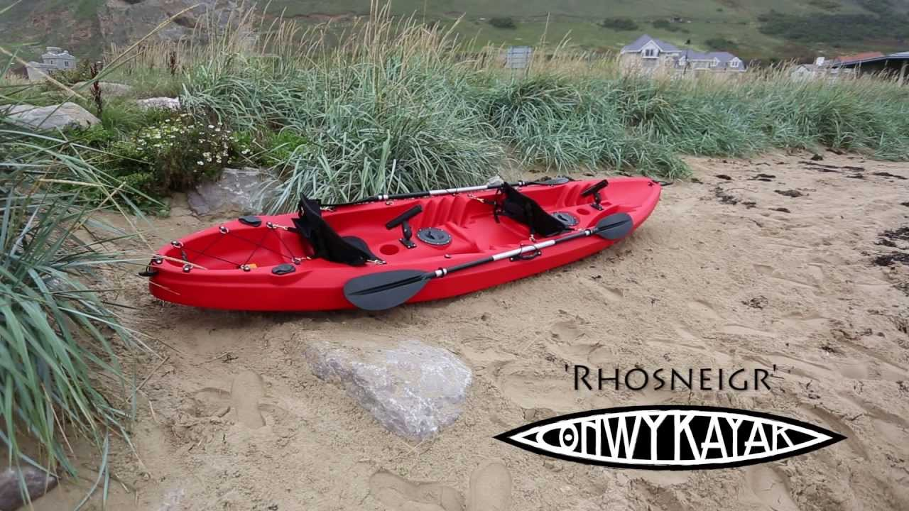 CONWY KAYAKs RHOSNEIGR 2 1 Person Family Sit On Top Kayak
