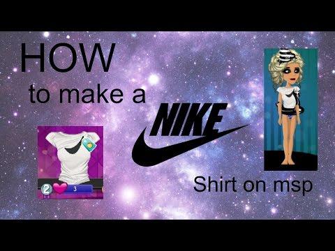 ☺How To make a Nike Shirt☺ -Msp