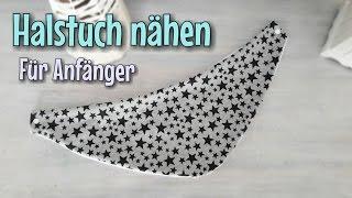 Halstuch Nähanleitung - Für Anfänger - OHNE Schnittmuster - Nähtinchen