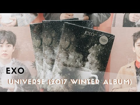 ❄️ unboxing EXO - universe (2017...