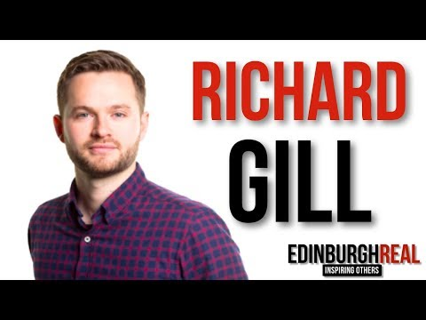 Richard Gill - School Failure to Business Success | Edinburgh Real (now Inspired Edinburgh)