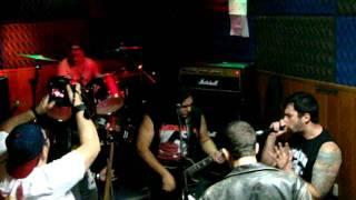 Lobotomia-Hoje vive o caos - ensaio ao vivo-Dez2011