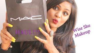 MAC Haul|Cult Favorite MAC Lipstick|Hot MAC MUA|WiseShe Makeup