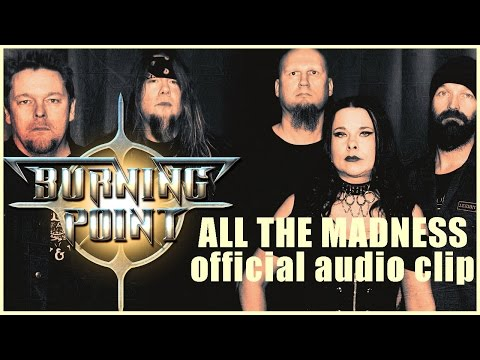 BURNING POINT - All The Madness (2015) // official audio // AFM Records