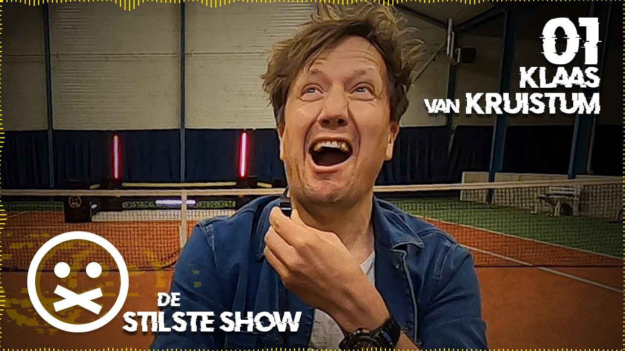 KLAAS SCHREEUWT HET UIT   De Stilste Show #1 met Klaas van Kruistum