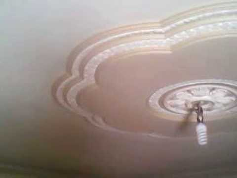 Decoracion de yeso y pintura   youtube