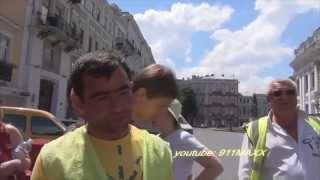 парковщик хотел денег, а получил по лицу Одесса