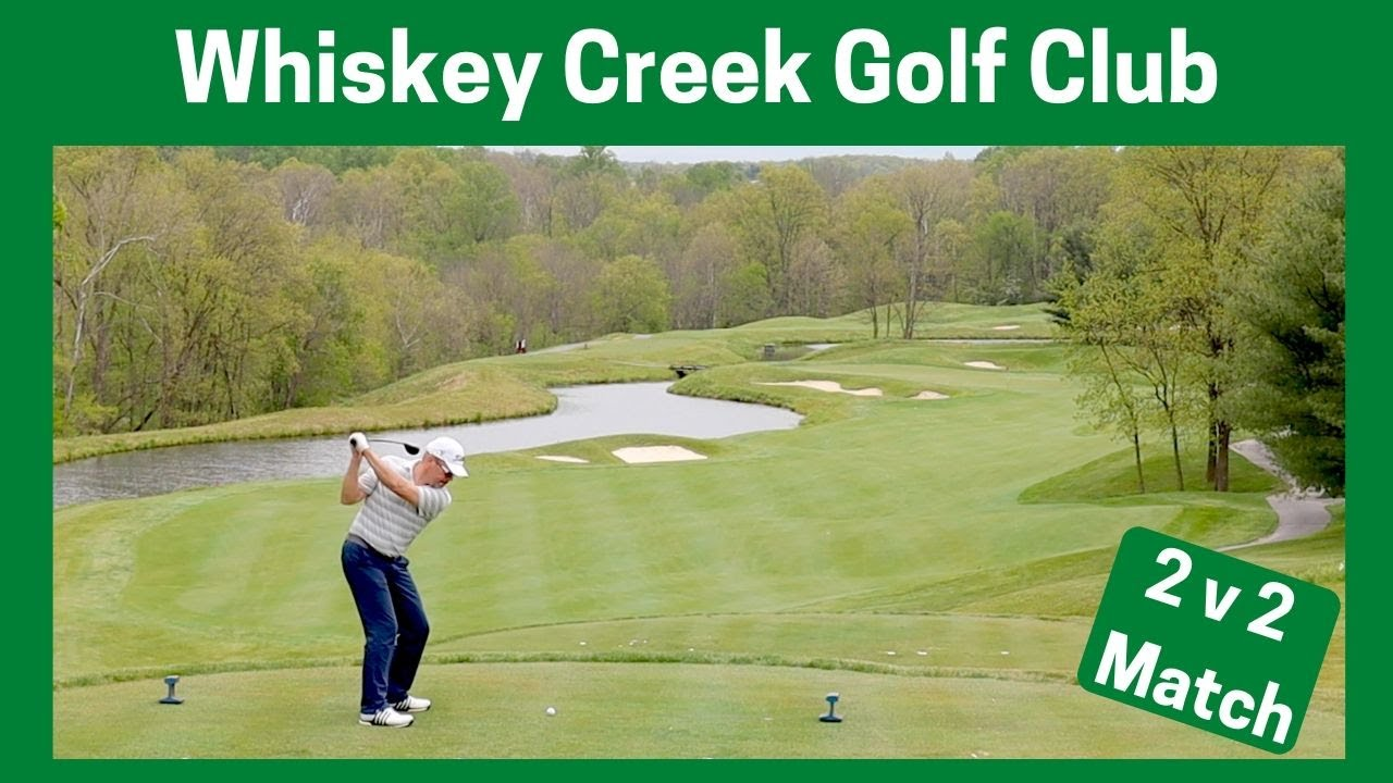 Whiskey Creek Golf Course - 2v2 Golf Match with Black Birdie Golf