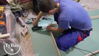 Установка двери в ванную комнату, видео по монтажу и технология