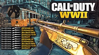 10 MINUTES OF THE BEST COD:WW2 SNIPER KILLFEEDS + TRICKSHOTS! [INSANE COMMUNITY MONTAGE]