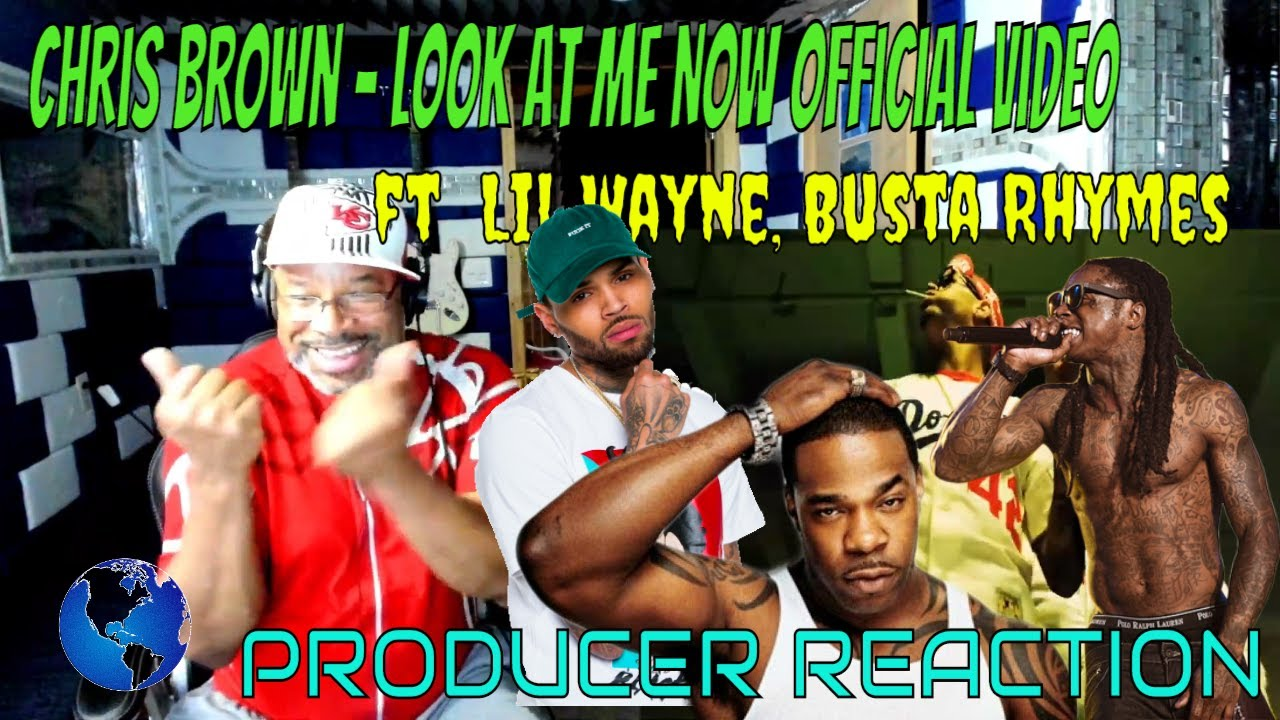 Download Chris Brown   Look at Me Now Official Video ft  Lil Wayne, Busta Rhymes - Producer Reaction
