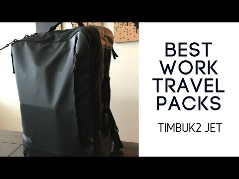 Best Work Travel Packs: Timbuk2 Jet Backpack Review