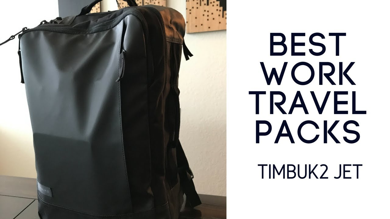 0dc739000c Best Work Travel Packs  Timbuk2 Jet Backpack Review - YouTube