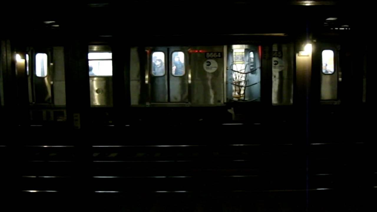 Coney Island Bound R160B Siemens N & Astoria Bound R160A-2 ...