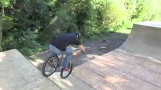 Building Backyard Bmx Ramps! First Riding Session!