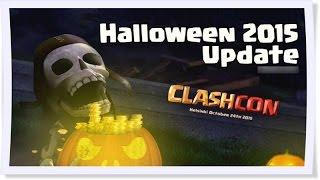 Clash of Clans - Clashcon Cadılar Bayramı Güncellemesi 2015 #2