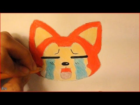 Easy things to draw cute animals drawing tutorial red fox