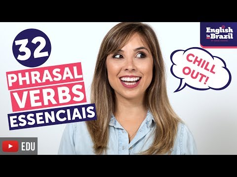 APRENDA 32 PHRASAL VERBS EM 12 MINUTOS | English in Brazil