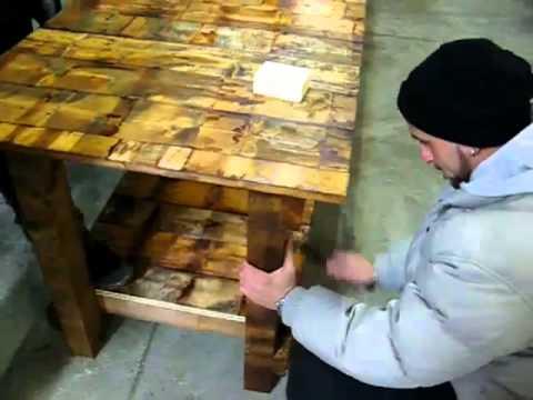 Per fare un tavolo youtube - Tavolo con pedane ...
