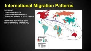 الفصل 3 مسألة رئيسية 1 - الهجرة - AP الجغرافيا البشرية